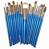 Susenstone®20 pcs/set Makeup Brush Set (Blue 2)