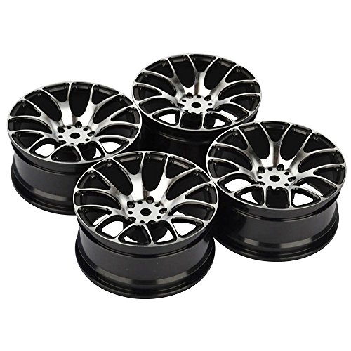 Aluminum Radio Controlled Toy - 4PCS RC 1:10 On-Road Drift Racing Aluminum Wheel Rim Fit HSP HPI Kyosho 1:10 On-Road Car Wheel Rim