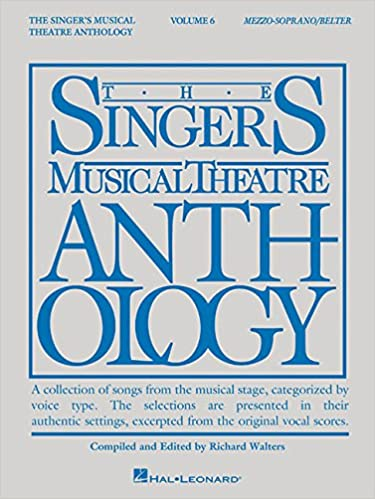 singers musical theatre anthology volume 6 mezzo sopranobelter book only hal leonard corp richard walters 9781495019012 amazoncom books