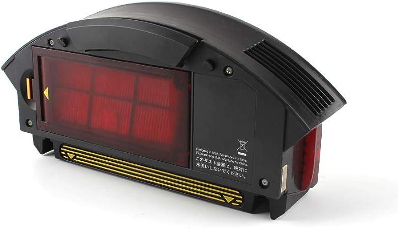 Hepa Filtro de polvo de recogida de filtro Aerovac caja de polvo para iRobot Roomba 800 900 Series 870 880 960: Amazon.es: Hogar