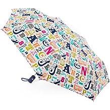 Multi Alphabet Folding Umbrella 43'' Dia