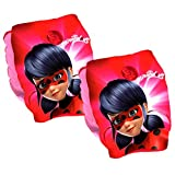 Inflatable Swim Arm Bands,Miraculous Ladybug Kids Swimming Armband 3-6 Years,Official Licensed