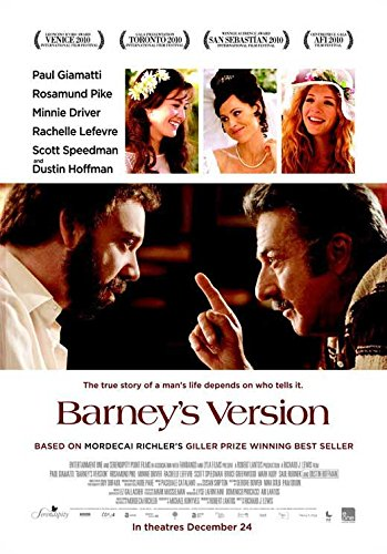 Barney's Version POSTER (11