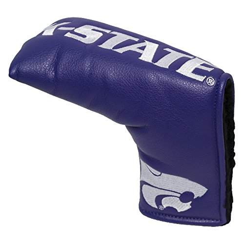 Team Golf NCAA Kansas State Wildcats Golf Club Vintage Blade Putter Headcover, Form Fitting Design, Fits Scotty Cameron, Taylormade, Odyssey, Titleist, Ping, Callaway