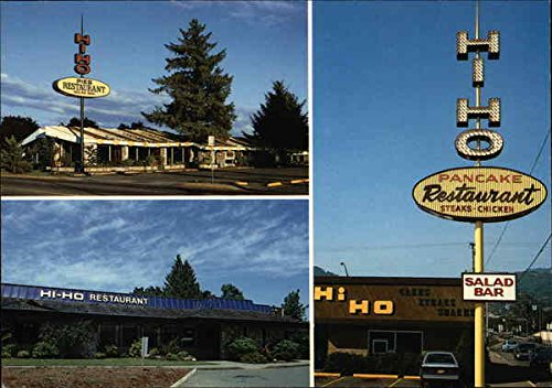 Amazon Com Hi Ho Restaurants Salem Oregon Original Vintage