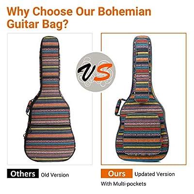 CAHAYA Bohemian Guitar Bag Vintage Guitar Case 4
