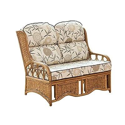 Small 2 Seater Cane Sofa
