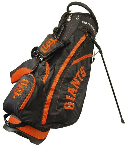 MLB San Francisco Giants Fairway Stand Golf Bag, Black