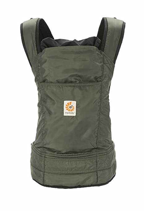 df20c7c1299 Ergo Baby Travel Collection Stowaway Carrier (Olive)  Amazon.co.uk  Baby