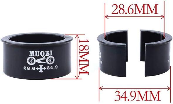 IPOTCH Desviador Delantero De La Bicicleta Adaptador De Di/ámetro Di/ámetro del Adaptador 28.6mm A 34.9mm