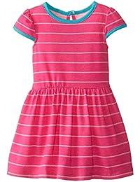 Baby Girls' Pink Striped Knit Dress