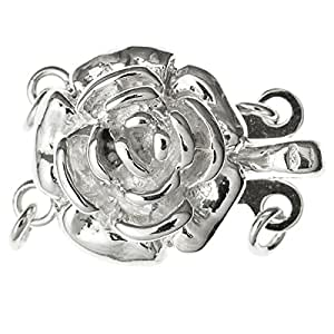Amazon.com: Dreambell .925 Sterling Silver Rose Flower 2