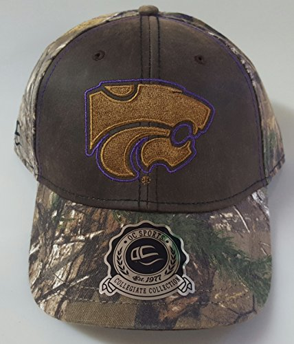 NCAA New Kansas State Wildcats Realtree Embroidered Adjustable Cap by NCAA
