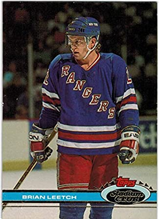 d5a536769 1991-92 Stadium Club New York Rangers Team Set with Brian Leetch   Mike  Richter