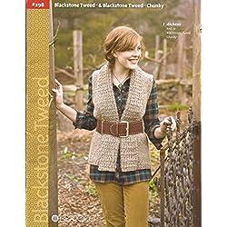 Berroco Knitting Patterns Blackstone Tweed & Blackstone Tweed Chunky Book 298