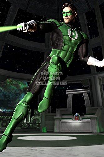 CGC Huge Poster - Mortal Kombat vs DC Universe Green Lantern PS3 XBOX 360 PC - MDC015 (24