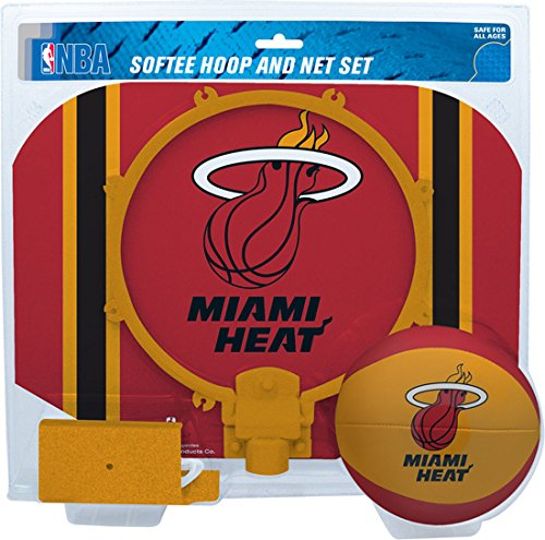 fan products of NBA Miami Heat Slam Dunk Softee Hoop Set