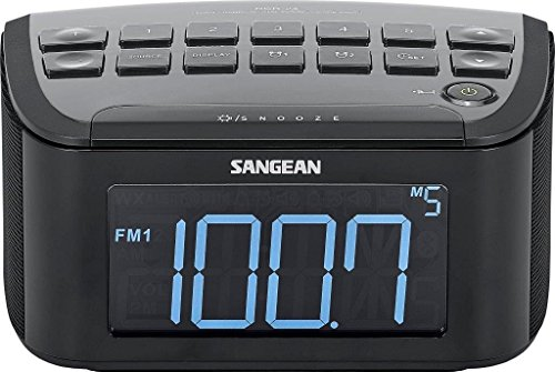 Sangean RCR-24 AM/FM-Stereo Aux-In Digital Tuning Radio w/Extra Large LCD Display. (Certified Refurbished) by Sangean