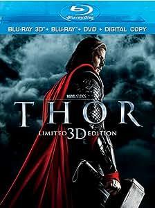 Thor (Blu-ray 3D + Blu-ray + DVD + Digital Copy)