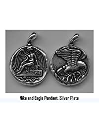 Nike Goddess of Victory and Eagle, Coin Pendant (# 9 NNIKEPENDANTONLY-S)