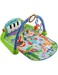 Fisher-Price Kick & Play Piano Gym, Blue/Green BOBEBE Online Baby Store From New York to Miami and Los Angeles