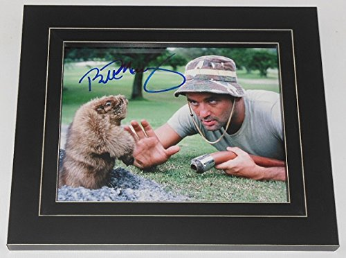Caddyshack Carl Spackler' Bill Murray Signed Autographed 8x10 Glossy Photo Gallery Framed (Flower Gallery Music Box)