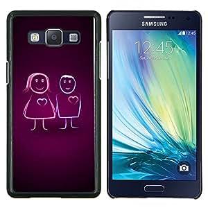 For Samsung Galaxy A5 A5000 Case , Vibrante- Diseño Patrón Teléfono Caso Cubierta Case Bumper Duro Protección Case Cover Funda