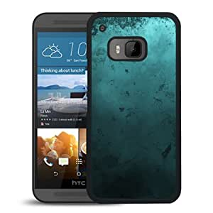 New Beautiful Custom Designed Cover Case For HTC ONE M9 With Green Ink Phone Case