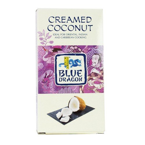 (4 PACK) - Blue Dragon - Creamed Coconut Block | 200g | 4 PACK BUNDLE