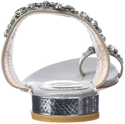 Sandali 45315 plata Donna Punta Aperta Argento Gioseppo fHvwq00