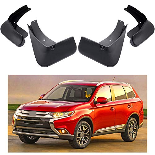 MOERTIFEI Car Mudguard Fender Mud Flaps Splash Guard Kit fit for Mitsubishi Outlander 2016-2019 17 18