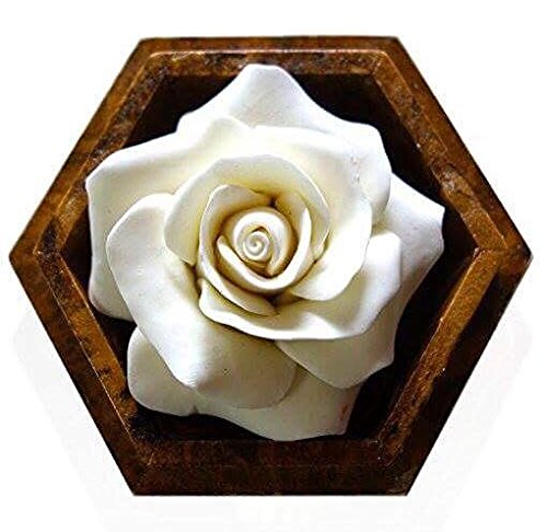 Hand-Carved Scented Rose Soap