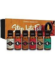 Step Into Fall Gift Set of 6 Premium Fragrance Oils - Eternal Essence Oils