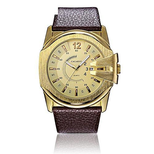 Cagarny Men's Quartz Watch Sale Explosive Casual Fashion Business Quartz Watch Men's Wholesale ( Color : 4 )