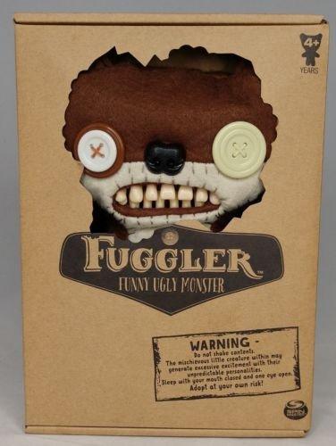 """Fuggler Brown Funny Ugly Monster 9"""" Plush"""