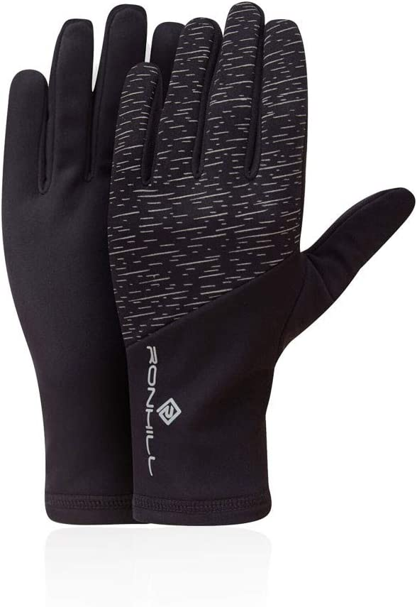 RonHill Womens Classic Glove Purple Sports Running Breathable Reflective