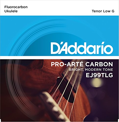 DAddario EJ99TLG Pro-Art Carbon Ukulele Strings Tenor Low G