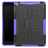 New iPad 9.7 Inch 2017 Cover Case - Jessica Kickstand Feature Heavy Duty Protection PC and Silicone feature Full-body Rugged Protective Case for Apple New iPad 9.7 Inch (2017 Released)
