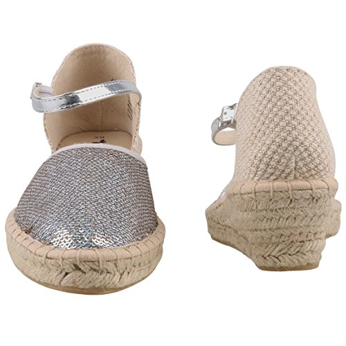 For Summer Shoes Womens Sandals Tamaris 1 Women 1 Fashion Women's Espadrilles Comfortable 28 Slipper 24309 conscious Silber R7xSxPwq