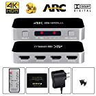 avedio links HDMI Switch with Audio Out, [emailprotected] 4 Port 4 x 1