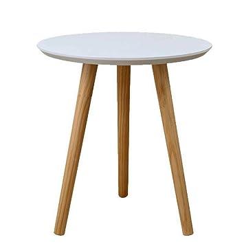 Amazon De Beistelltische Kleiner Runder Tisch Ein Paar