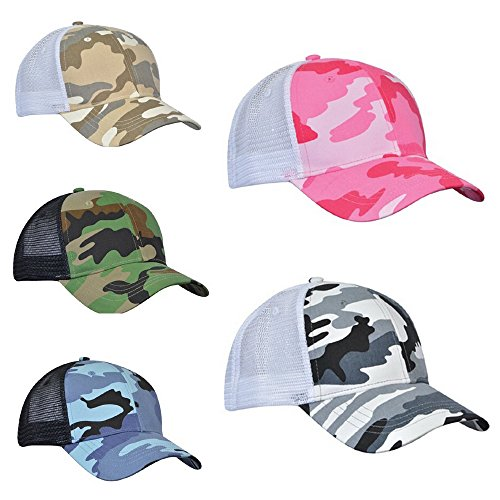 KC-Caps-Ventilate-Mesh-Cap-Hat-Baseball-Trucker-Adjustable-Golf-Plain-Snapback-Hats