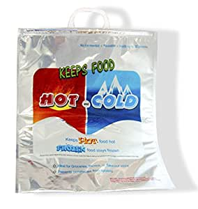 X-Large Hot-Cold Insulated Thermal Food Storage & Carry Bag 19 x 16 - Holds 30 Lbs