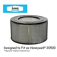 Honeywell 20500 HEPA Replacement Media Filter Fit for 17000 and 10500 ~Made by Home Revolution