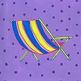 Caroline's Treasures LD6141FC silla de playa posavasos de espuma (juego de 4), 8,89 cm a x 8,89 cm a, Multicolor