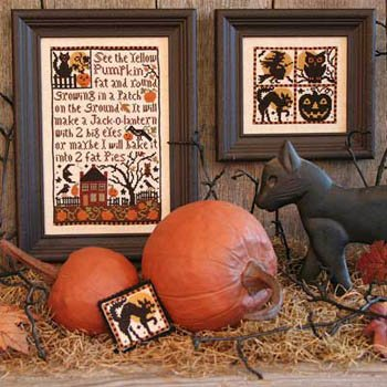 (Pumpkin Patch (2nd Edition) Cross Stitch Chart and Free)