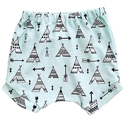 Price comparison product image Baby Boys Girls Cute Colorful Printed Hot Bloomers Daytime Shorts (90/24M, Tent)