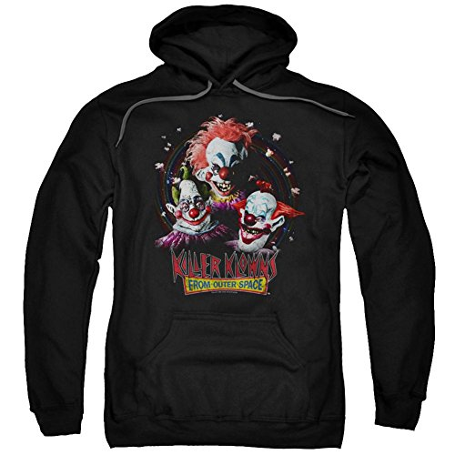 Hoodie: Killer Klowns From Outer Space- Killer Trio Pullover Hoodie Size S