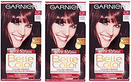 Garnier Belle - Tinte permanente para el pelo, color marrón y ...