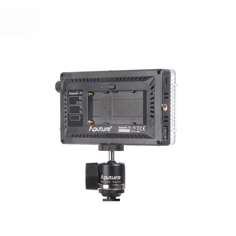 Aputure Amaran AL-F7 On Camera LED Video Light Color Temperature 3200-9500K CRI/TLCI 95+ Led Panel Versatile On-Camera LED Light (Updated version of Aputure Al-H198) by Aputure (Image #3)